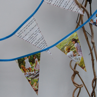 Vintage 'Peter and Jane' book bunting