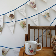Paper bunting - The Tale of Benjamin Bunny