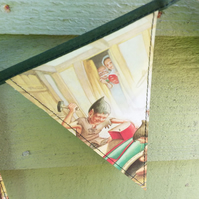 Elves and the Shoemaker - vintage Ladybird book bunting
