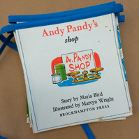 Book bunting - Andy Pandy's shop