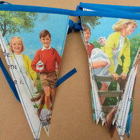 Book bunting - Peter and Jane (summer)