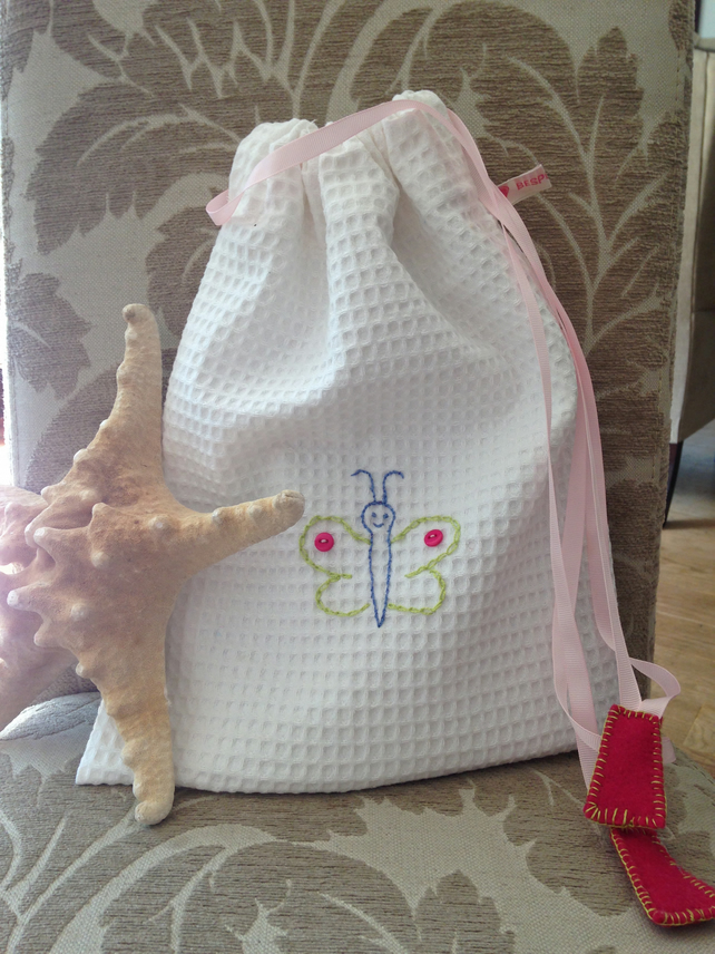 hand embroidered toiletry bag