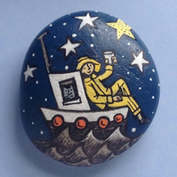 Illustrated Stone- Sailor's Salute to the Stars
