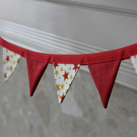 Mini Christmas Bunting - Bright Stars