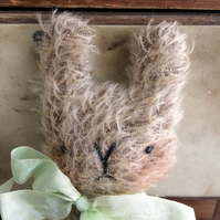Sweet little Oswald mohair Easter bunny rabbit.