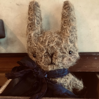 Sweet little Jules mohair bunny rabbit