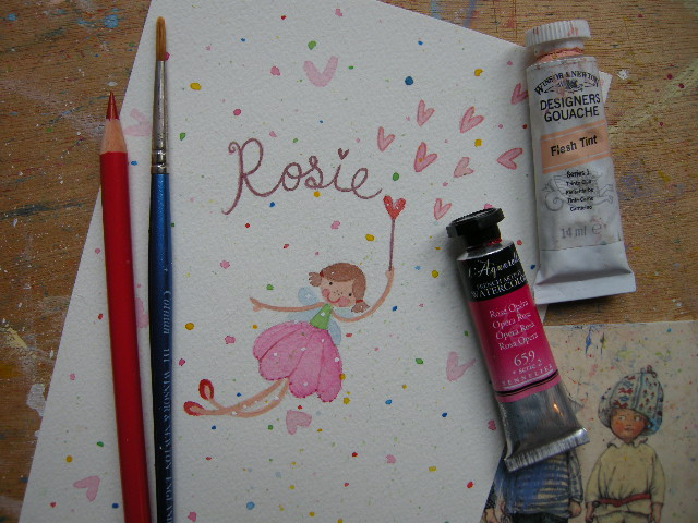 Personalised Fairy Painting - Painted to order