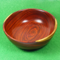 Small decorative Cocobolo Bowl - (B027)