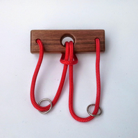 Ox Yoke Puzzle - Traditional Wooden Puzzle