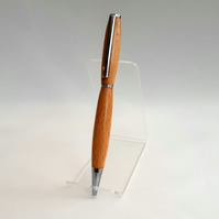 Budget Pen. Chrome plated fittings Beech Lacquer finish. (P033)