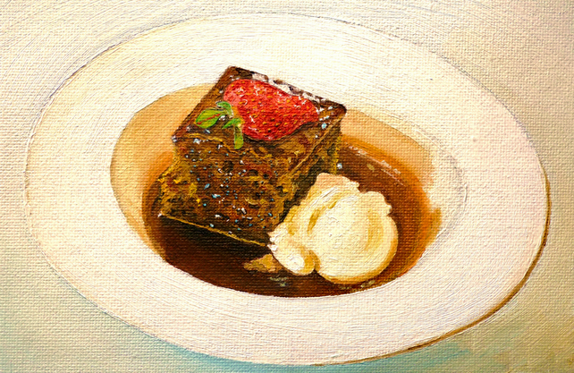 Treacle Toffee Pudding