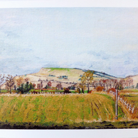 Greeting Card- Cley Hill