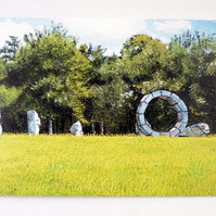Greeting Card- Heavens Gate