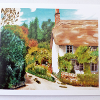 Greeting Card- Cottage