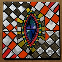 Bloomsbury Inspired Design- Tile 4 (Stained Glass)