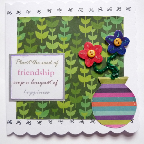 Bouquet of Friendship Card