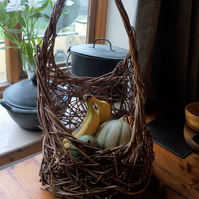 Lacy weave Woven Willow, ergonomic, wicker, basket, practical, ready now