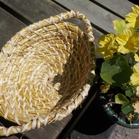 Straw, Bread Basket, traditional, Vintage style, container, bowl,