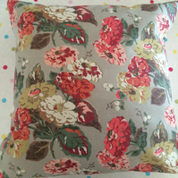 Cushion,pillow cover,decorative cover,quilt in cath kidston autumn bloom  fabric