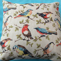 Cushion,pillow cover,decorative cover,quilt in cath kidston garden birds  fabric
