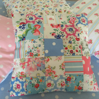 "16"" patchwork cushion cover in Cath Kidston fabrics,homewears,"
