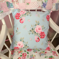 Cath kidston Antique rose cotton duck fabric cushion cover