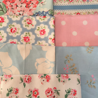 "40 x 4""  Cath kidston cotton fabric patchwork squares"