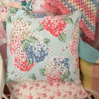Cath kidston Hydrangea cotton duck fabric cushion cover