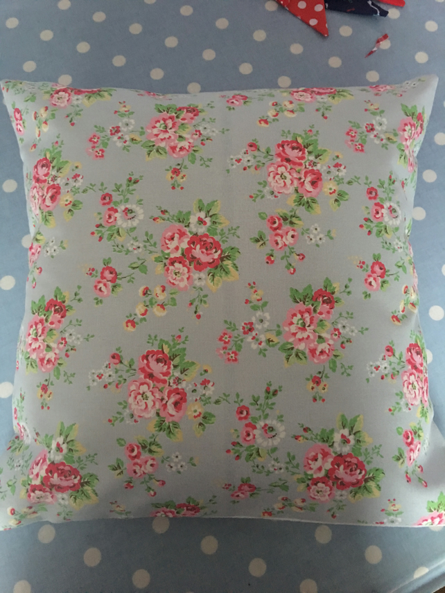 Cath kidston Spray flowers cotton duck fabric cushion cover