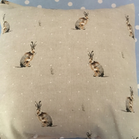 Hartley hare cotton fabric Cushion cover