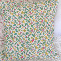 Liberty fabric floral design cotton fabric Cushion cover