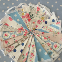 20 ft Cath Kidston Summer cotton fabric ,wedding,party flags