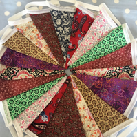Bohemian style cotton fabric ,wedding,party flags