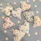 Shabby chic Mini heart garland ,bunting