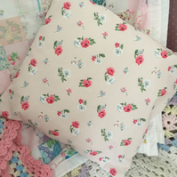 Cath Kidston  Rose bud Fabric Cushion Cover