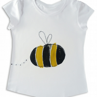 Girls Bumble Bee T-Shirt