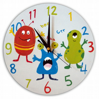 Monster Clock