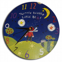 Twinkle Twinkle Little Star Clock