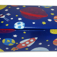 Personalised Outer Space Toy Box - Large