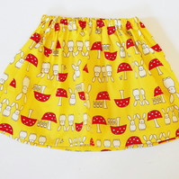 Girls Bunny Rabbit Skirt