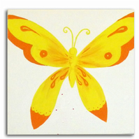 Children's Butterfly Art - Painting - Canvas - Nursery Decor