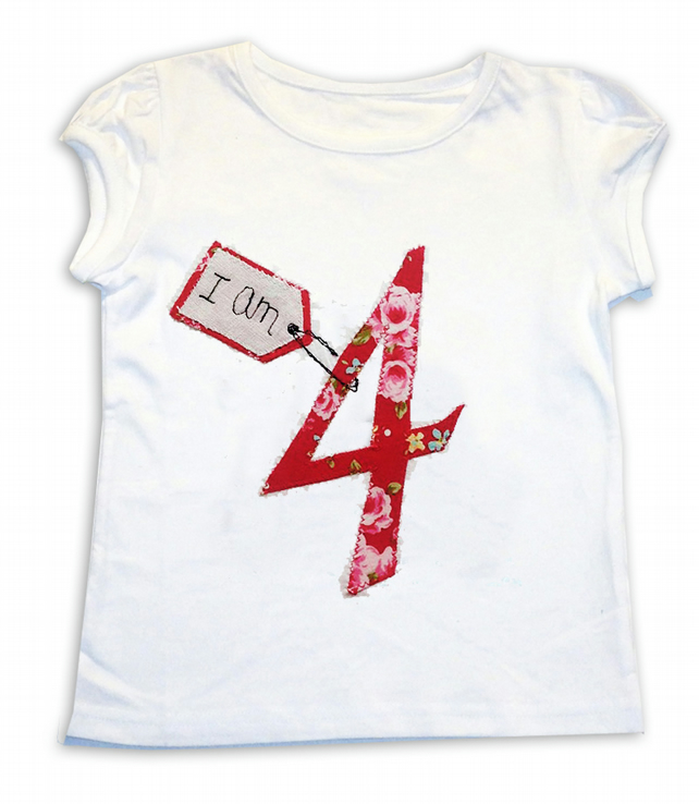 Personalised Age T-shirt