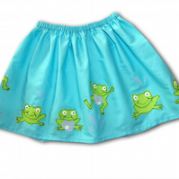 Girls Frog Skirt