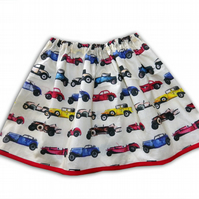 Girls Car Skirt