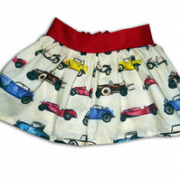 Girls Classic Car Skirt