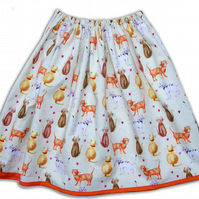 Women's Cat Skirt