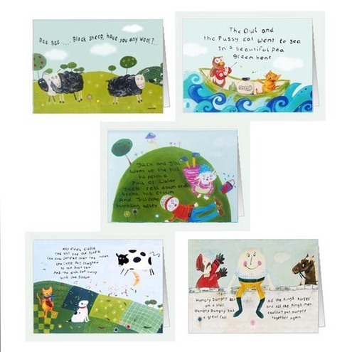 Nursery Rhyme Card
