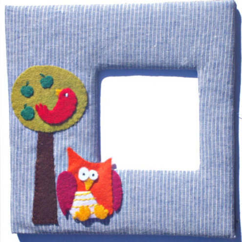 Owl Photo  Picture Frame