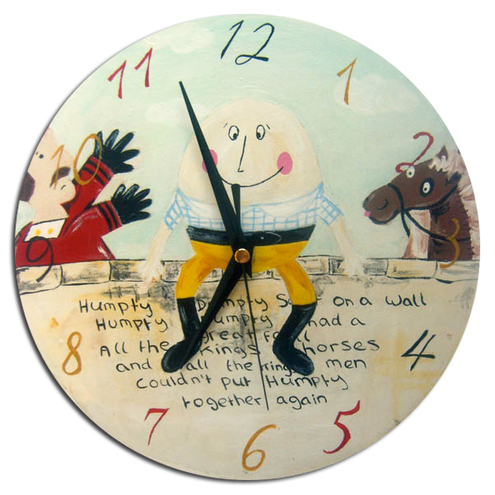 Humpty Dumpty Clock