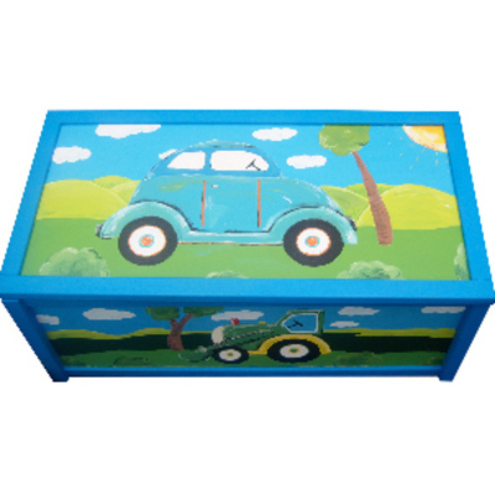 Personalised Car Toy Box
